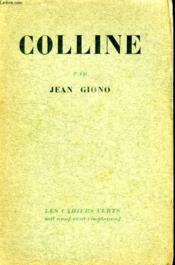 Colline. - Couverture - Format classique