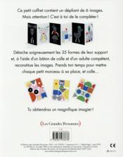 Imagier à construire - 4ème de couverture - Format classique