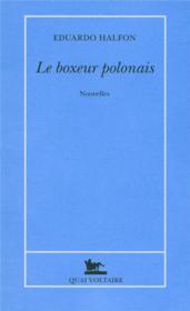 Le boxeur polonais - Couverture - Format classique