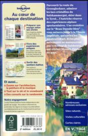 Autriche (2e édition) - 4ème de couverture - Format classique