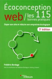 Éco-conception web ; les 115 bonnes pratiques (3e édition) - Couverture - Format classique