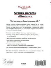 Grands-parents débutants (4e édition) - 4ème de couverture - Format classique