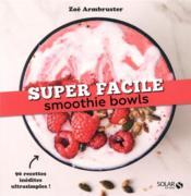 Smoothie bowls - Couverture - Format classique