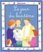 Le jour du baptême - Couverture - Format classique