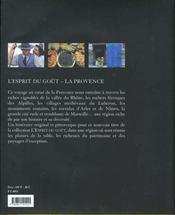 La Provence - 4ème de couverture - Format classique