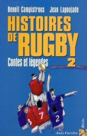Hist de rugby 2 contes et lege - Couverture - Format classique
