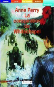 La conspiration de Whitechapel - Couverture - Format classique