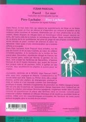 Pere Lachaise/Pere Lachaise Pared/Le Mur - 4ème de couverture - Format classique