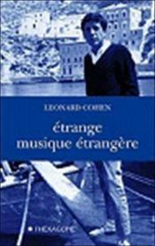 Étrange musique étrangère - Couverture - Format classique