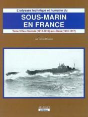 Odyssee sous-marin en france (t3-vol 1) - Couverture - Format classique
