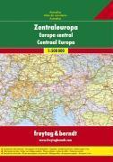 **Europe Central Road Atlas - Couverture - Format classique