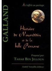 Histoire de Noureddine et de la belle persane - Couverture - Format classique