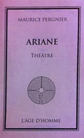 Ariane - Couverture - Format classique