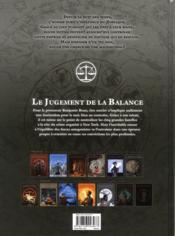 Zodiaque t.7 ; le jugement de la balance - 4ème de couverture - Format classique
