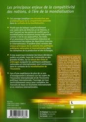 Les relations économiques internationales ; la gouvernance globale à l'ère de la mondialisation de la production - 4ème de couverture - Format classique