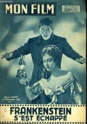 Mon Film N° 609 - Frankenstein S'Est Echappe - Couverture - Format classique