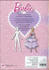 Mes tenues de Barbie - 4ème de couverture - Format classique