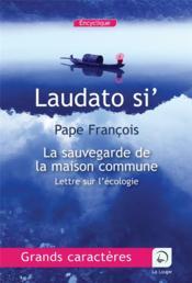 Laudato si', lettre sur l'écologie - Couverture - Format classique