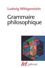 Grammaire philosophique - Couverture - Format classique