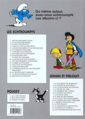 Les Schtroumpfs t.13 ; les p'tits Schtroumpfs - 4ème de couverture - Format classique