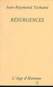 Resurgences - Couverture - Format classique