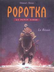 Popotka le petit sioux t.6 ; le bison - Intérieur - Format classique