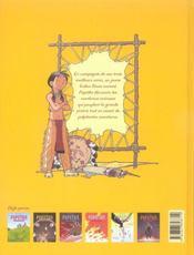 Popotka le petit sioux t.6 ; le bison - 4ème de couverture - Format classique