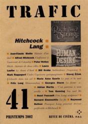 Revue Trafic N.41 - Couverture - Format classique