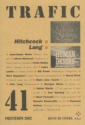 Revue Trafic N.41 - Intérieur - Format classique