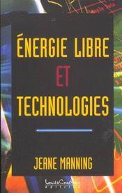 Energie libre et technologies - Intérieur - Format classique