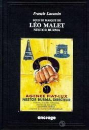 Sous Le Masque De Leo Malet - Couverture - Format classique