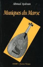 Musiques Du Maroc - Couverture - Format classique