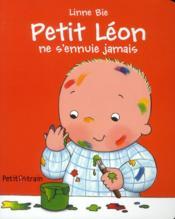 Petit Léon ne s'ennuie jamais - Couverture - Format classique