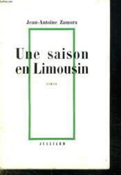 Une Saison En Limousin. - Couverture - Format classique