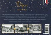100% VINTAGE ; Dijon à travers la carte postale ancienne - 4ème de couverture - Format classique
