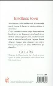 Endless love t.1 - 4ème de couverture - Format classique