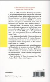 Cuba, année zéro ; anthologie - 4ème de couverture - Format classique