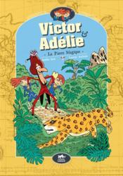 Victor et Adélie T.3 ; la pierre mystérieuse - Couverture - Format classique