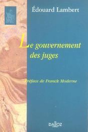 Le gouvernement des juges - Intérieur - Format classique