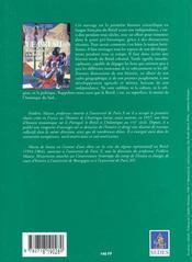 Le Bresil Du Xve A La Fin Du Xviiie (Ne) - 4ème de couverture - Format classique