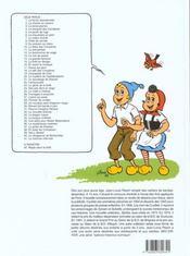 Sylvain et Sylvette T.5 ; la partie de luge - 4ème de couverture - Format classique