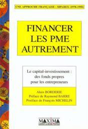 Financer les pme autrement - Couverture - Format classique