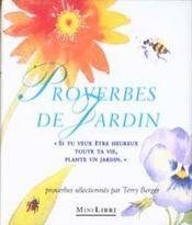 Les proverbes de jardin - Intérieur - Format classique