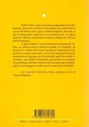 Hedda Gabler - 4ème de couverture - Format classique