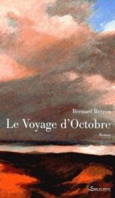 Le voyage d'octobre - Couverture - Format classique