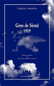 Les gens de Séoul 1919 - Couverture - Format classique