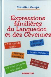 Expressions familieres du languedoc et des cevennes - Couverture - Format classique
