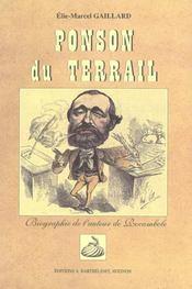 Ponson Du Terrail - Intérieur - Format classique