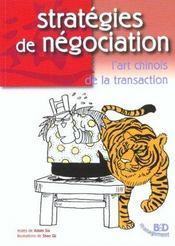 Strategies de negociation - Intérieur - Format classique