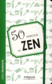 50 exercices de zen - Couverture - Format classique